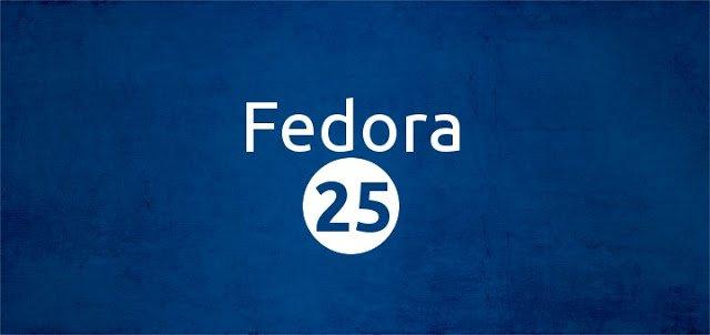 Релиз Linux-дистрибутива Fedora 25