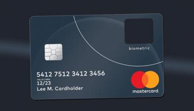 MasterCard запускает кредитную карту со встроенным сканером отпечатков пальцев