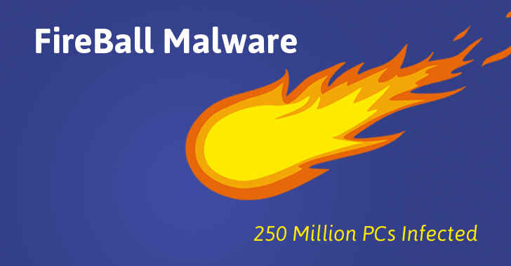 Fireball Malware заражает 250 миллионов компьютеров