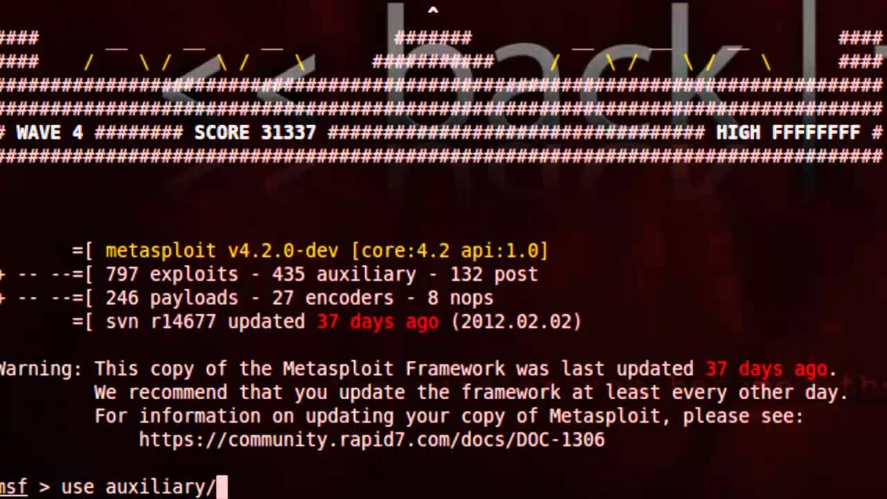 Metasploit для начинающего хакера (Autopwn) (Часть 7)