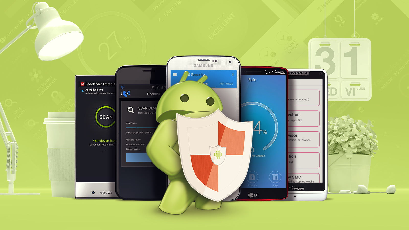 Сравнение лучших антивирусных приложений для Android