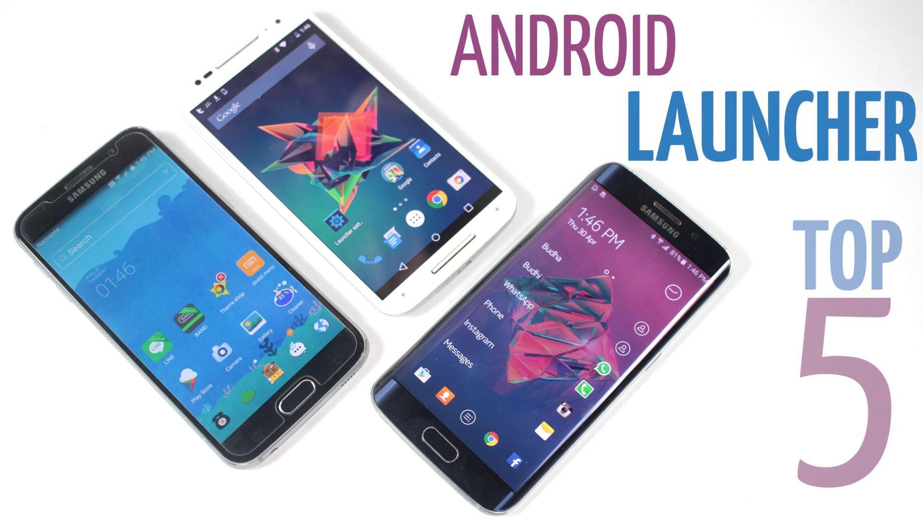 5 лучших лаунчеров для Android