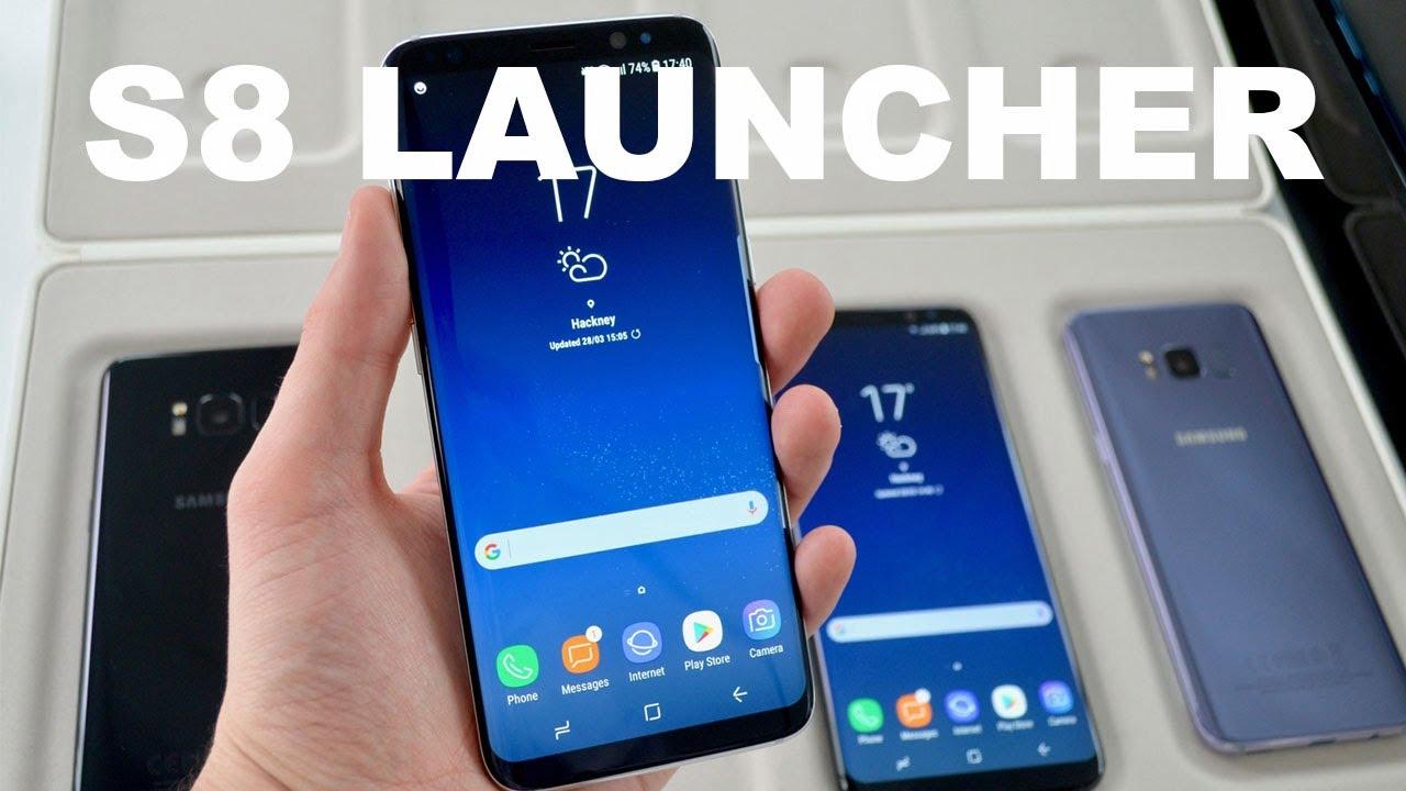 Как установить новый лаунчер Galaxy S8 на устройства S7 или S7 Edge без рутинга