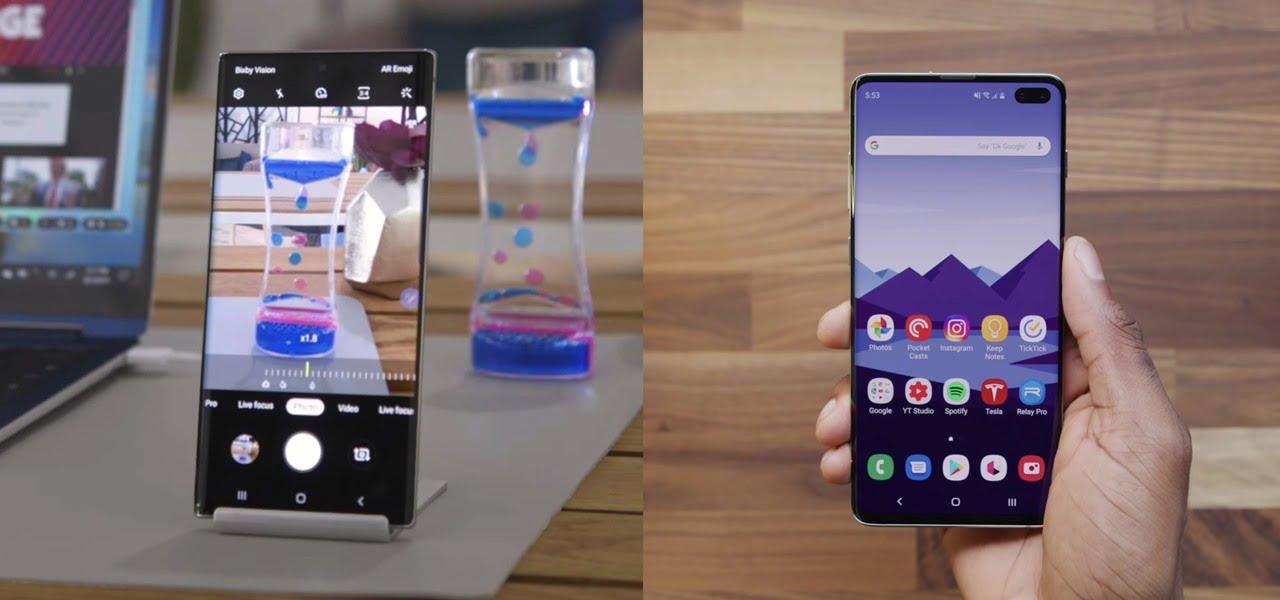 Galaxy Note 10+ vs. Galaxy S10+: сравнение лучших телефонов от Samsung