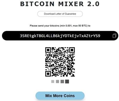 Смешивание биткоинов на MixTum
