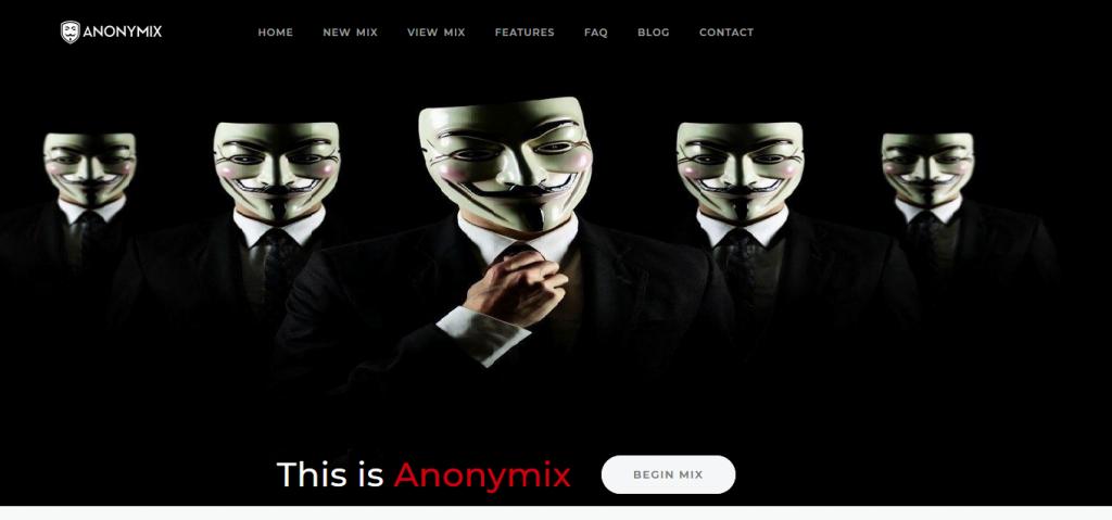 AnonyMix CryptoMixer