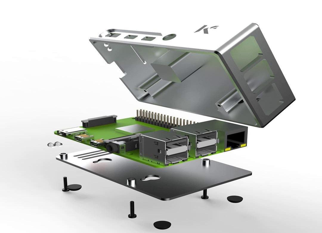 Обзор стального корпуса KKSB для Raspberry Pi 4