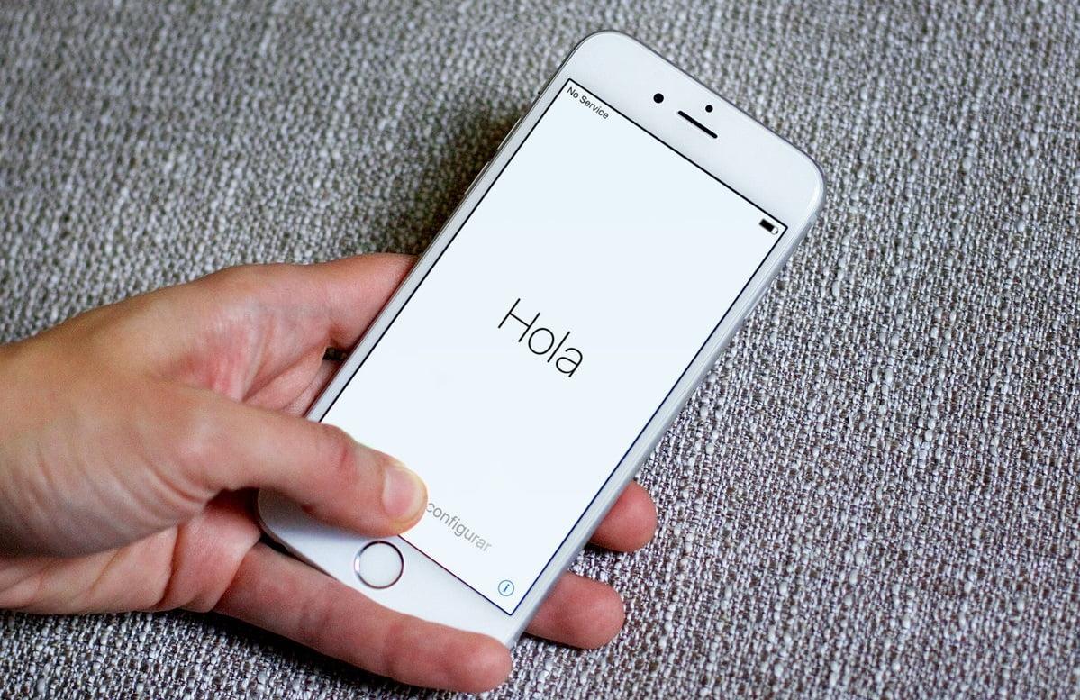 Как настроить новый iPhone