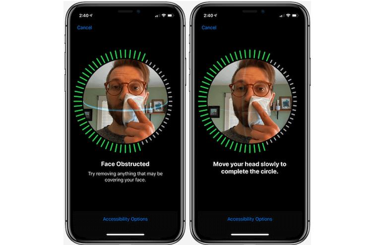 Как пропустить разблокировку Face ID на iPhone при ношении маски