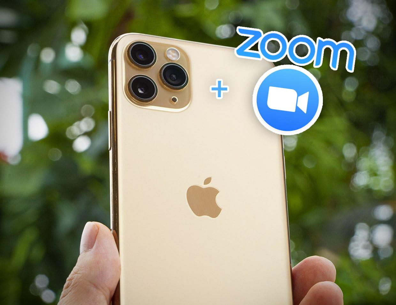 Как удобнее использовать зум на камере iPhone