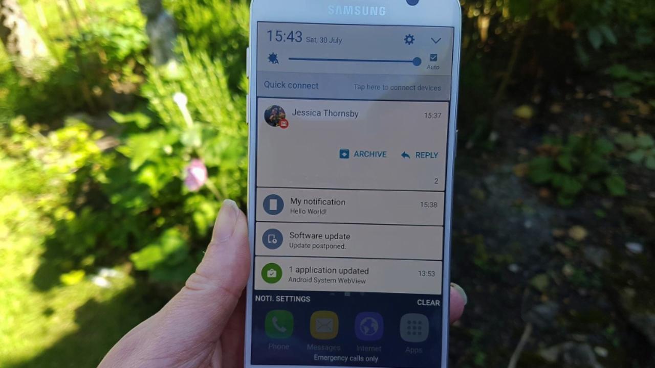 Скрытый виджет «История уведомлений» на Android