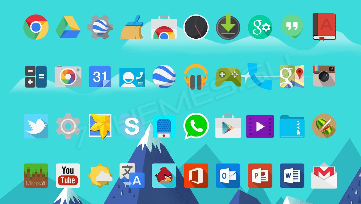 Как применить пак иконок на Android