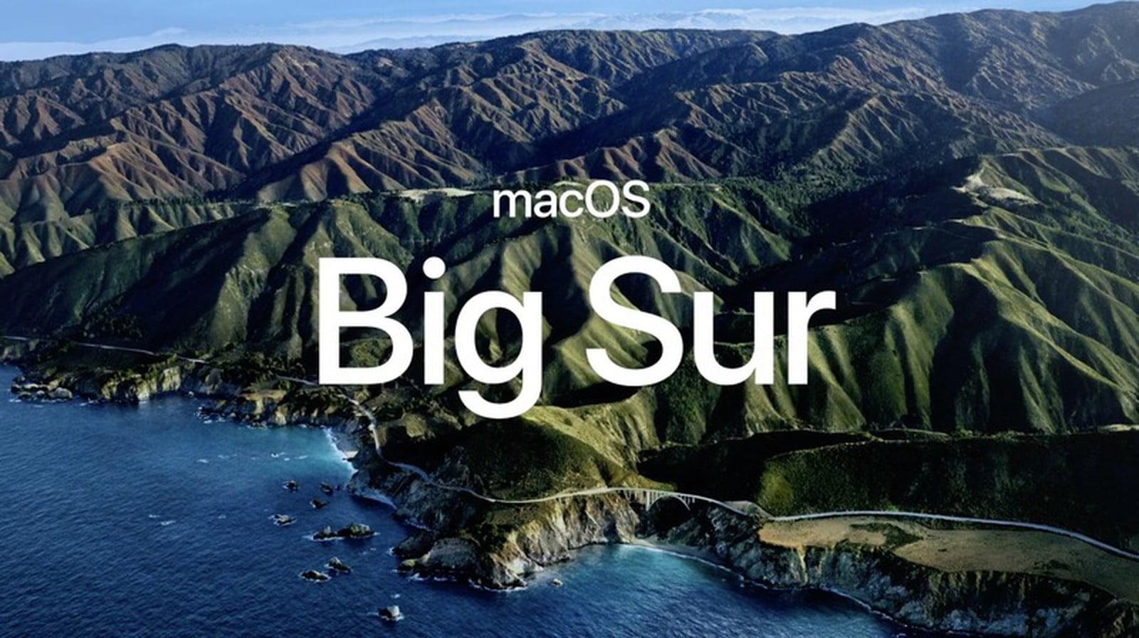 macOS 11 Big Sur — система Apple следующего поколения